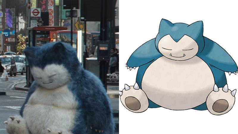 Pokémon: Detective Pikachu - Snorlax