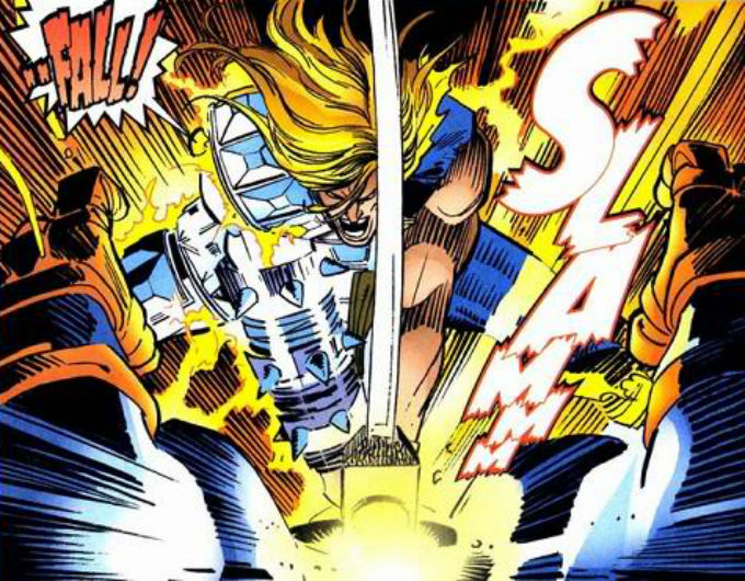 Thor Derrotó a Thanos