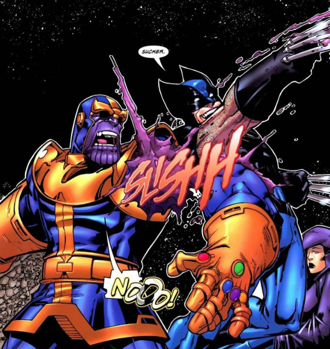 Wolverine Derrotó a Thanos