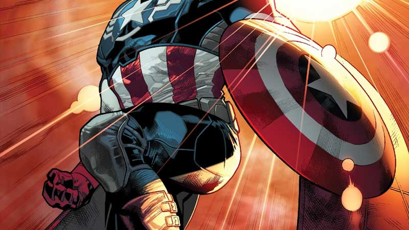 Portada de All-New Captain America