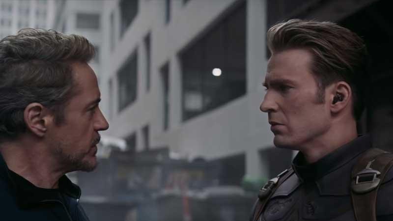 Avengers: Endgame - Cap y Tony