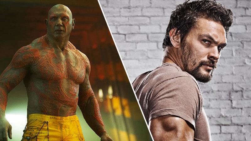 Jason Momoa decidió que Batista era mejor opción para Drax el Destructor