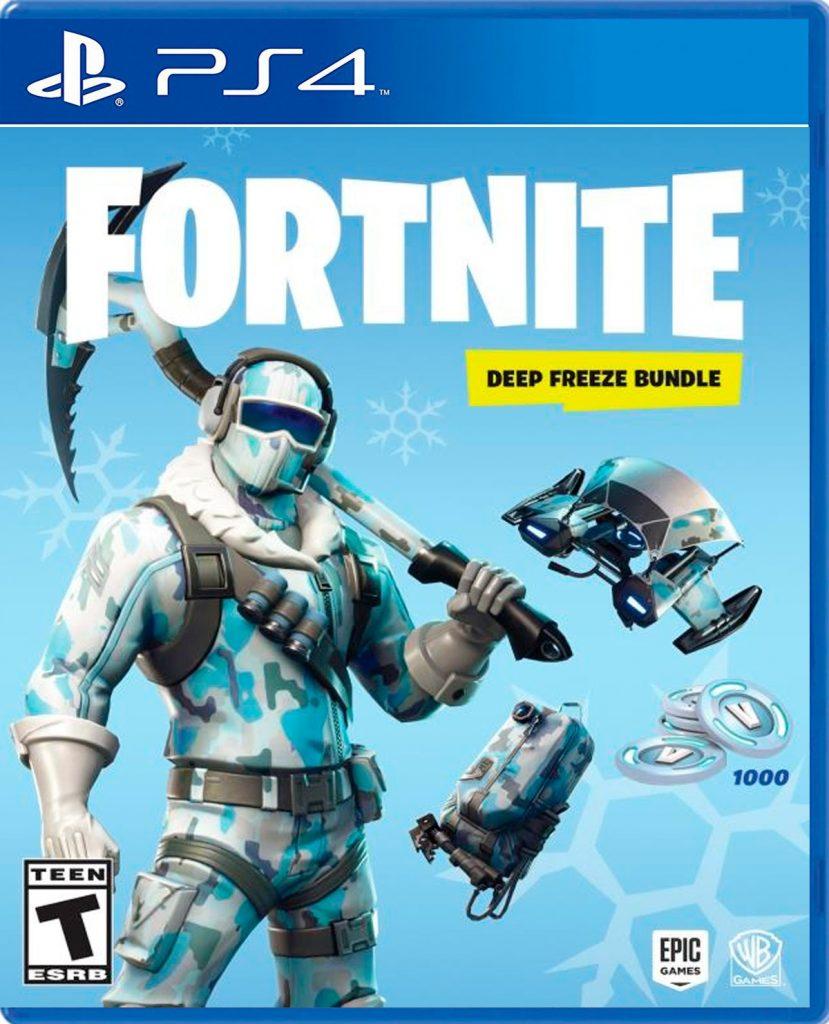 Fortnite Deep Freeze Blue