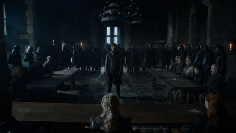 Game of Thrones Jaime frente a todos