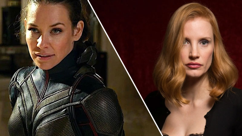 Jessica Chastain no quiso ser The Wasp