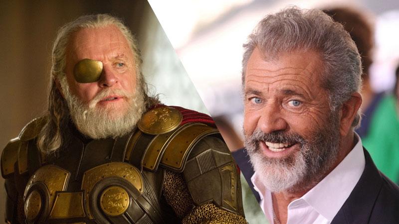 Mel Gibson pudo ser el padre de Thor