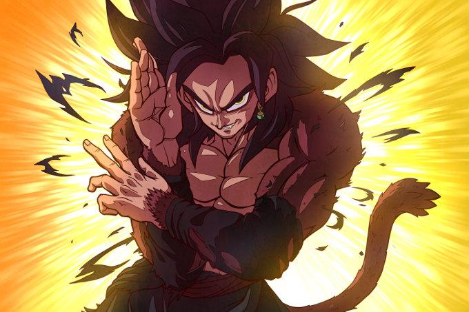 Dragon Ball: Muestran cómo se ve Goku Black como SSJ4