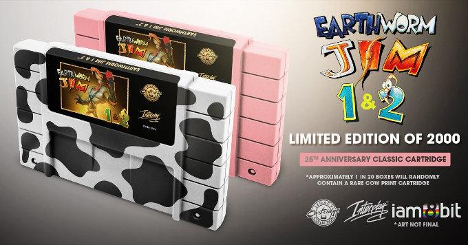 Earthworm Jim volverá a Super Nintendo y así es como puedes conseguirlo