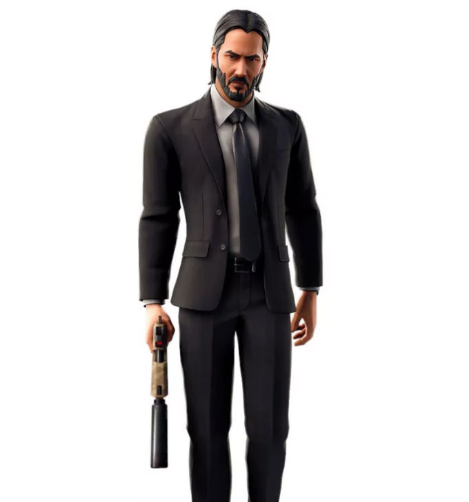 John Wick se ve bien en Fortnite