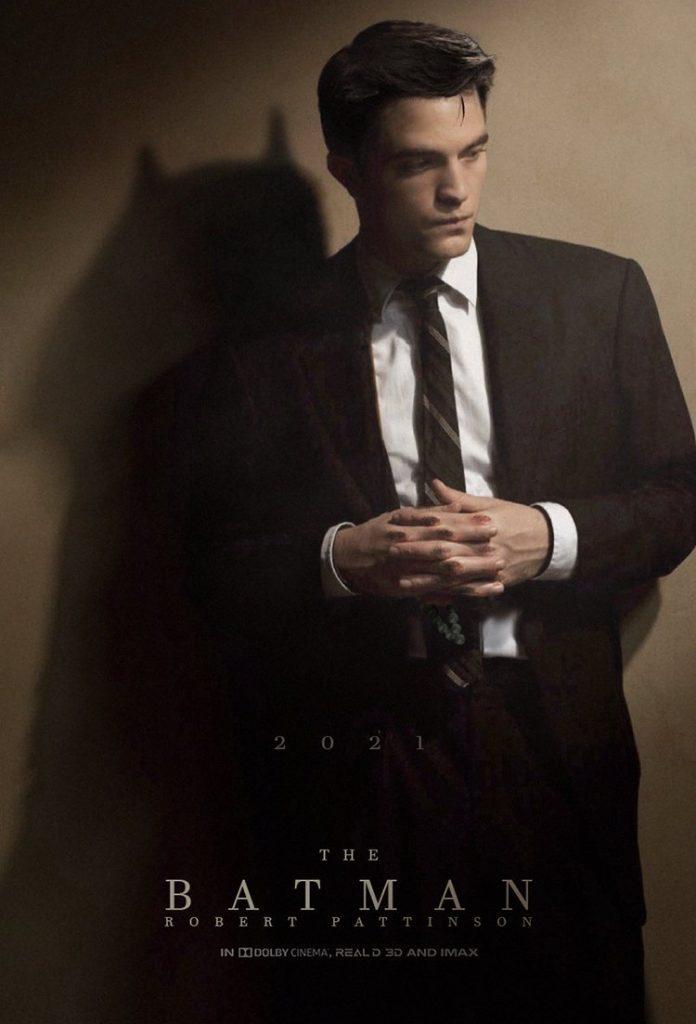 Robbert Pattinson como Batman