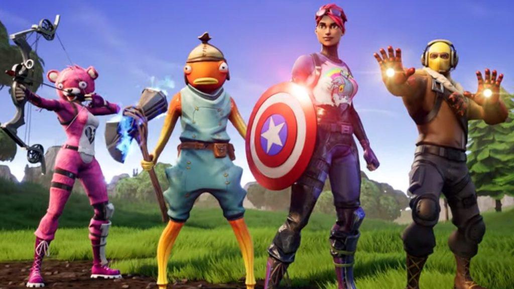 Fortnite con el evento de Endgame