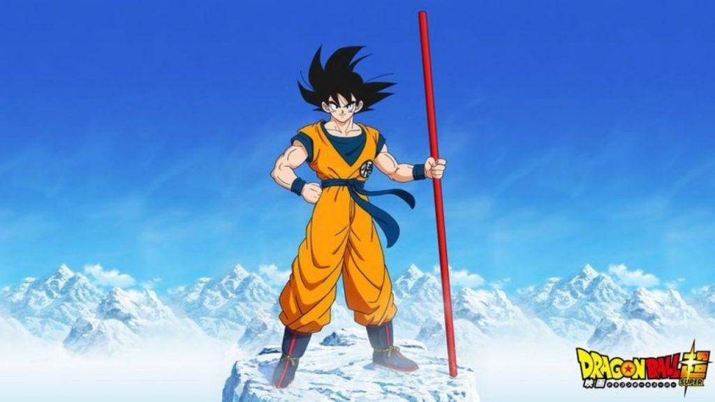 Primer arte para la película de Dragon Ball Super: Broly