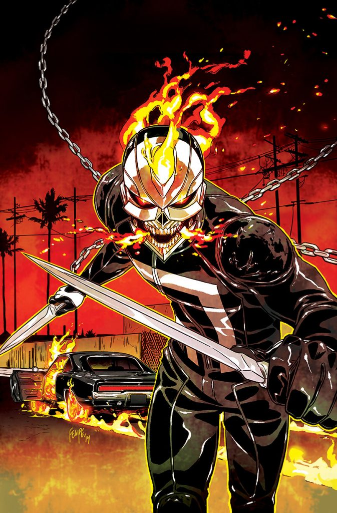 Robbie Reyes como Ghost Rider