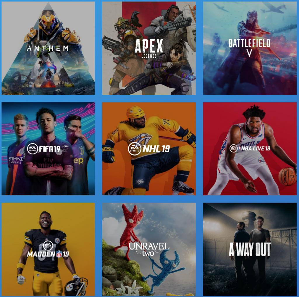 Hay algunos juegos confirmados de EA Access en PS4