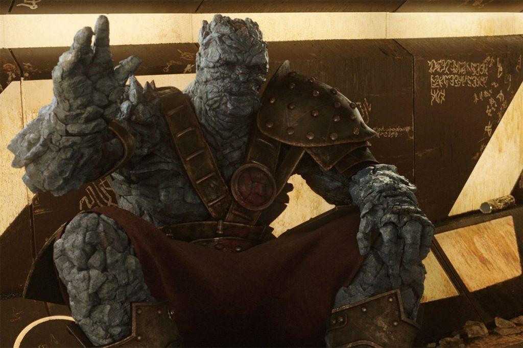 Korg juega Fortnite en Avengers: Endgame
