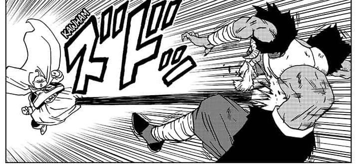 Majin Buu está logrando detener a Moro en Dragon Ball Super