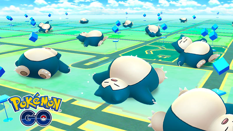 Pokémon GO tiene un evento con Snorlax