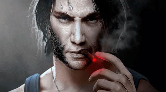 Keanu Reeves como Wolverine.