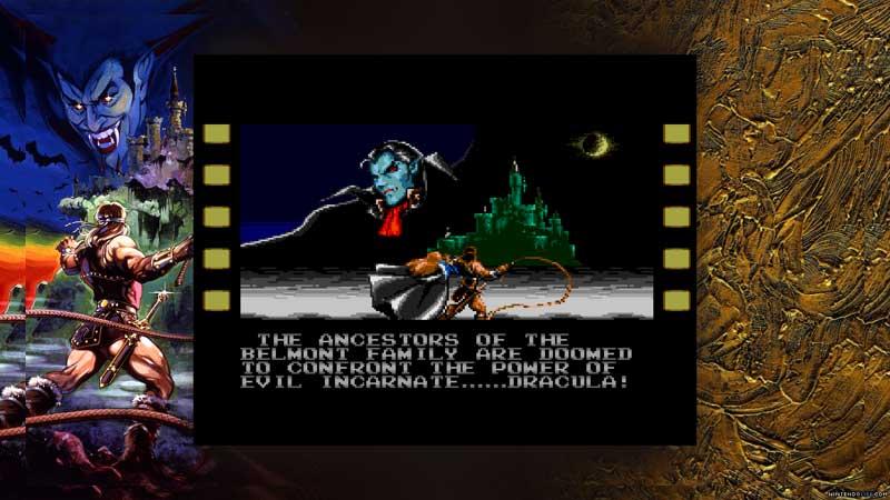 La forma en que los juegos de Castlevania son presentados es muy digna.