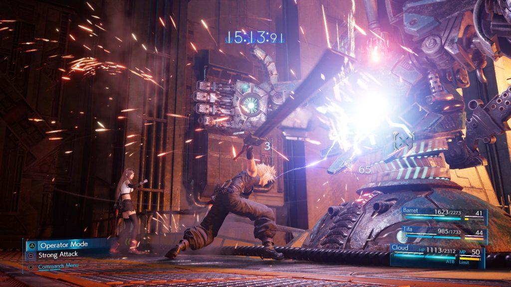 Final Fantasy VII Remake ofrece un importante apartado táctico