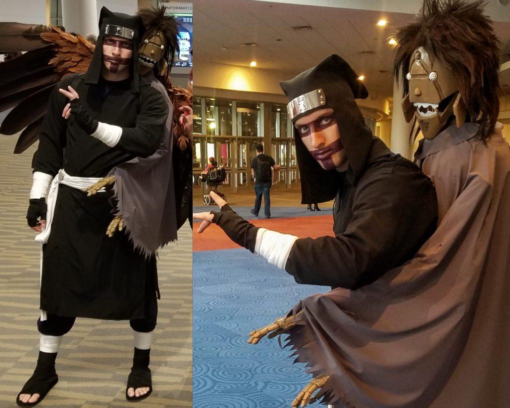 Cosplay de Kankurou de la serie Naruto