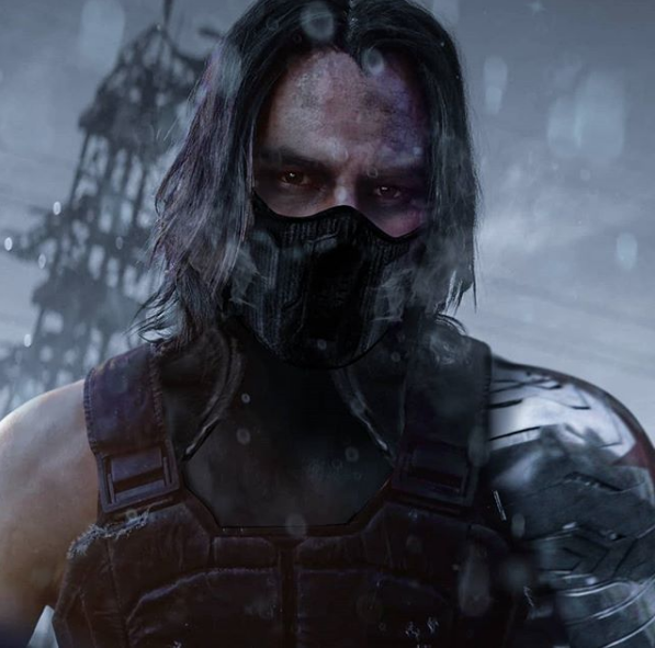 Keanu Reeves como el Winter Soldier