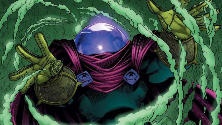 Así se veía Mysterio en los cómics de Spider-Man en la década de los 90.