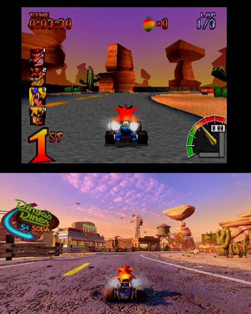 Beenox hizo un gran trabajo al hacer el remake de Crash Team Racing Nitro Fueled