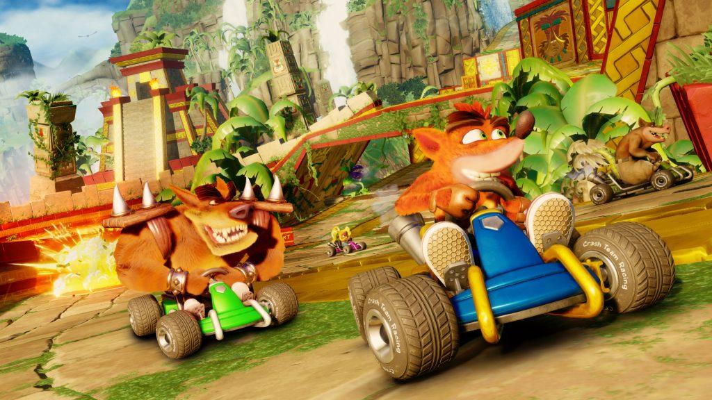 Crash Team Racing Nitro Fueled no le pide nada a su competencia.