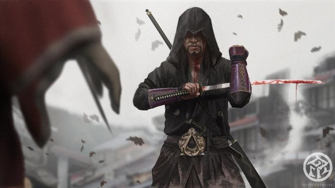 Muestran cómo se vería Assassin's Creed en Japón