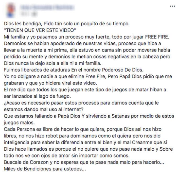 Demonios habitan Free Fire