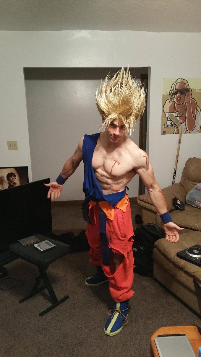 Dragon Ball: Al fin un cosplay que logra el cabello de Super Saiyajin
