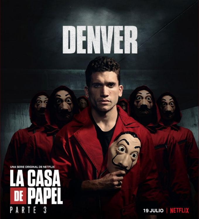 Estreno Casa de Papel Temporada 3 Actor Denver
