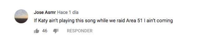 Fans de Katy Perry Area 51