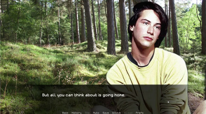Keanu Reeves Dating Sim