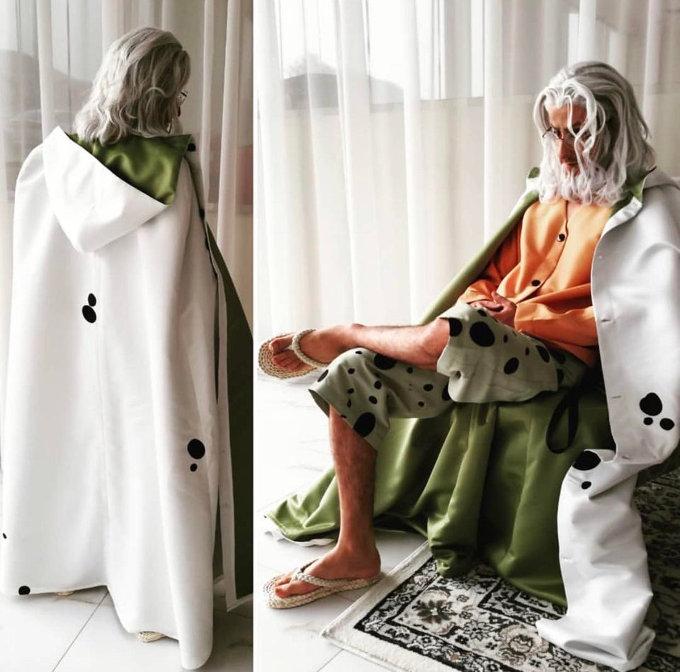 Impresionante cosplay de Rayleigh de One Piece