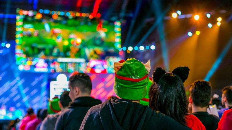 Así como League of Legends, Fortnite está haciéndose su espacio en los eventos.