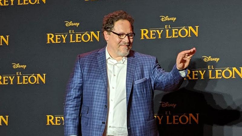 Jon Favreau, director del Rey León