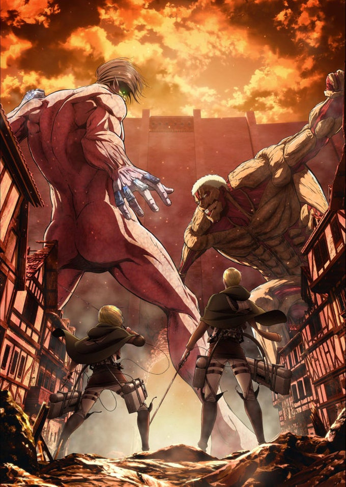 Mira cómo se verá el Blu-ray de la Temporada 3 de Attack on Titan
