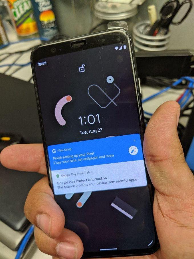 Primer vistazo al teléfono Google Pixel 4