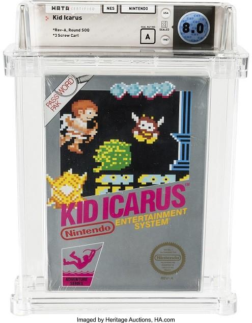 Copia nueva de Kid Icarus de NES