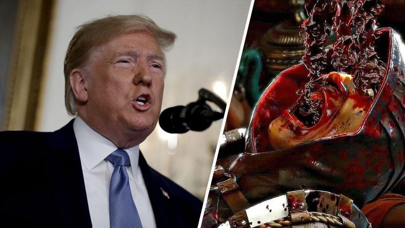 Donald Trump vuelve a culpar a los videojuegos