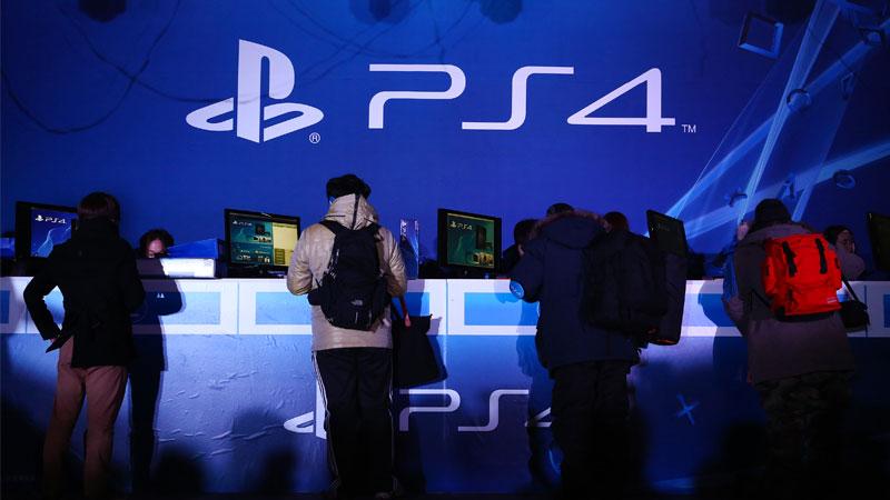 PlayStation promocionando su PS4