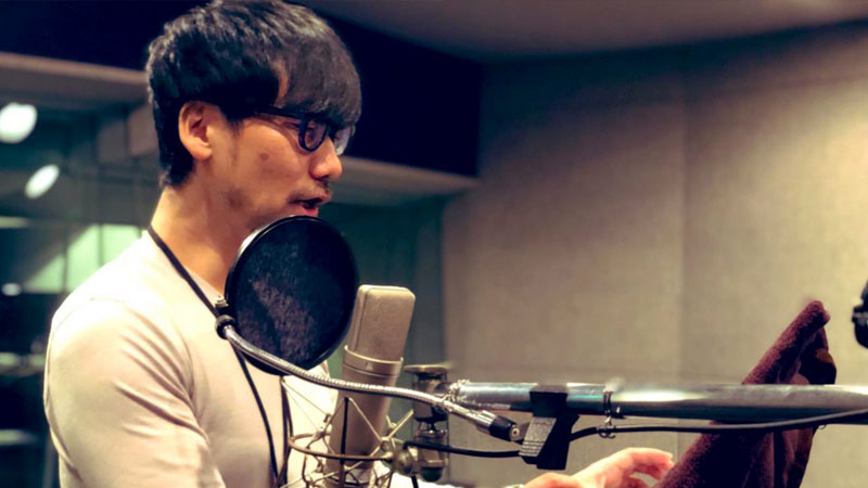 Control: Hideo Kojima grabando
