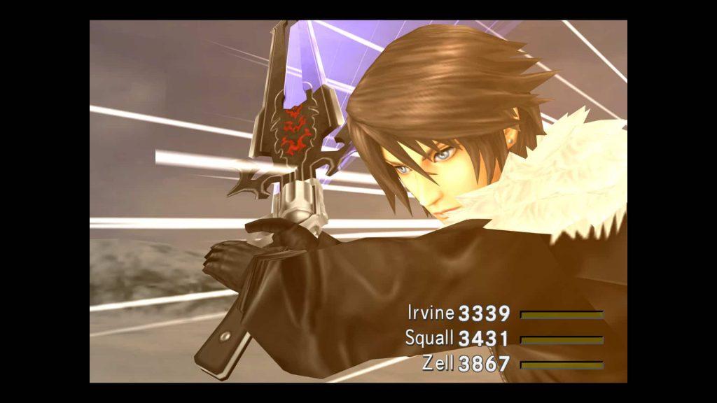 Batalla Final Fantasy VIII
