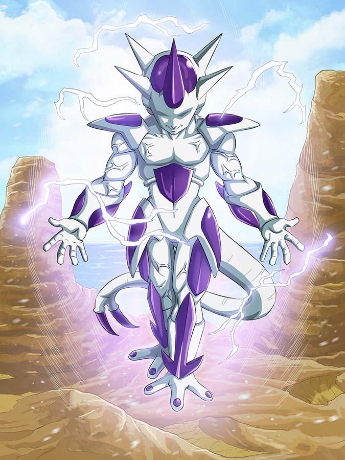 Así se vería Freezer de Dragon Ball con otra fase de poder