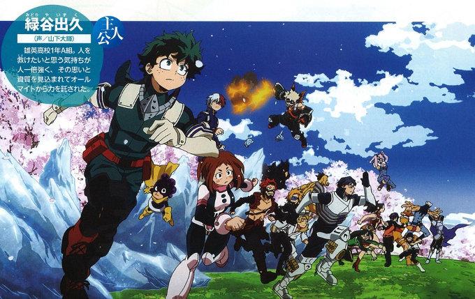 My Hero Academia: Surgen las primeras imágenes de la cuarta temporada