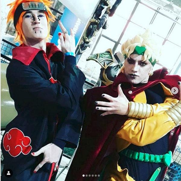 Los villanos de Naruto y JoJo's Bizarre Adventure unidos por el cosplay