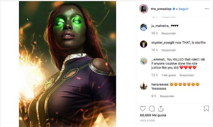 Titans Anna Diop Starfire