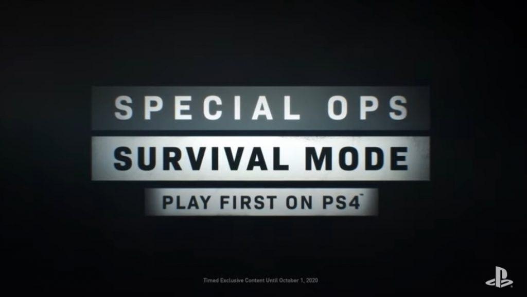 Así fue el anuncio de Survival Mode para Spec Ops de Call of Duty: Modern Warfare